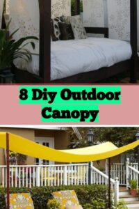 8 Diy Outdoor Canopy-diy Super Charismatic Tutorials