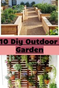 10 Diy Outdoor Garden-diy Ideas To Do When Bored
