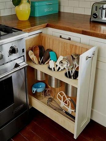 10 Diy Storage Kitchen-diy Home & Do It Yourself Projects
