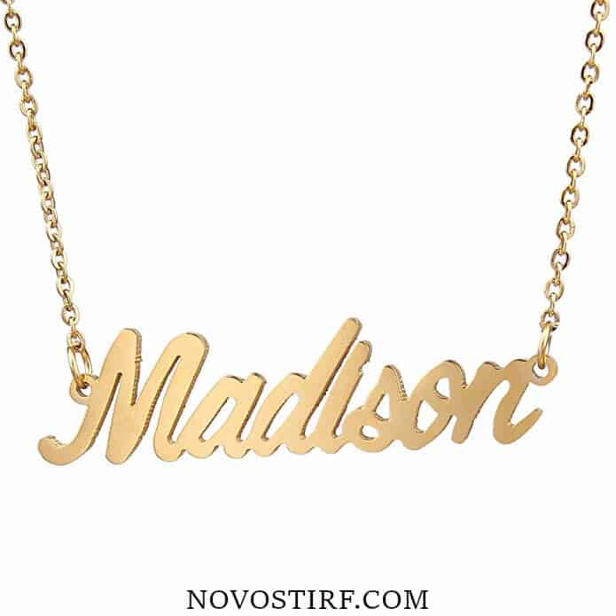 Amazing 15 Monogram Necklaces Collection